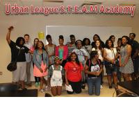 Middle school students in after school program